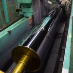 Polishing roll for film