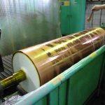 フィルム製造用銅めっきロール