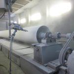 製紙用テフロン加工ロール