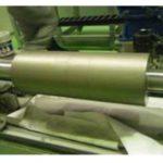 印刷機LMD(レーザ・メタル・デポジション)肉盛りシリンダー